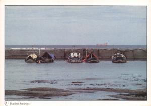 Large Format Postcard Staithes Harbour, North Yorkshire by Perfect Pictures #MCX