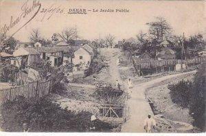 Senegal Dakar Le Jardin Public 1906