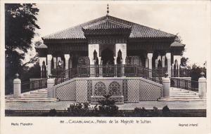 Morocco Casablanca Palais de Sa Majeste le Sultan