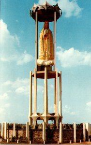 Ohio Indian Lake Russels Point San Juan Park Our Lady Of Fatima Monument 1967