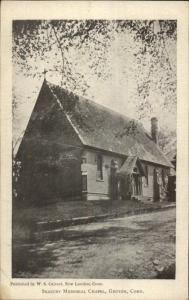 Groton CT Seabury Chapel c1905 Postcard
