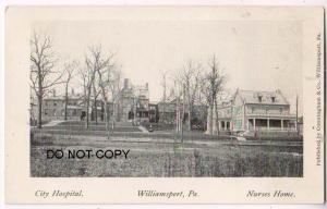 City Hospital & Nurses Home, Williamsport PA