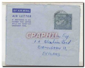 Cyprus Cyprus Als 4 used 02/12/50 (catalog says First day of use is 4.15.50) ...