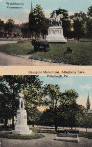 PITTSBURGH, Pennsylvania, 00-10s; Washington Monument, Hampton Monument