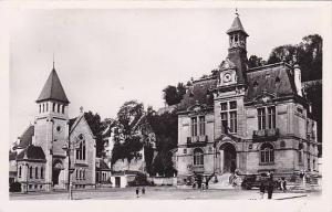 RP; Chateau-Thierry, La Place de l'Hotel-de-Ville,  Aisne, France, 10-20s
