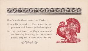 The Great American Turkey Poem, 00-10s