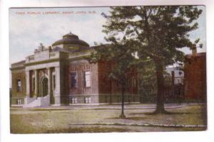 Free Public Library, Saint John, New Brunswick,