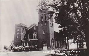 First Presbyterian Chuech Sparta Illinois Real Photo