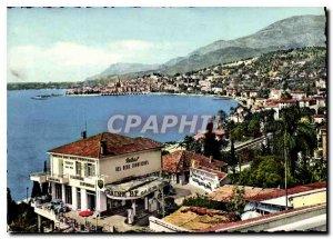 Modern Postcard The French Riviera Menton Garavan View Basically Menton right...