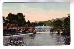 Bridge, The Weir, Belper, England