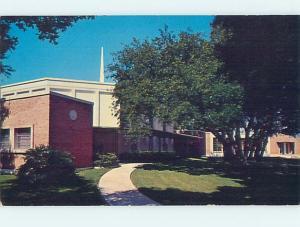 Unused Pre-1980 CHURCH SCENE Fort Myers Florida FL hs6474