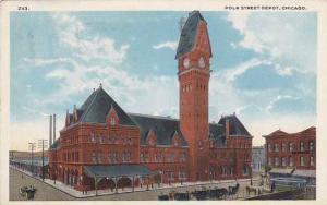 Polk Street Depot, Chicago, Illinois, PU-1920