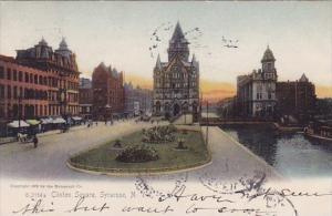 New York Syracuse Clinton Square 1906
