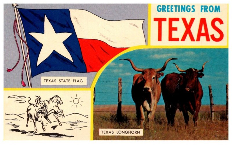 Texas  LARGE LETTER