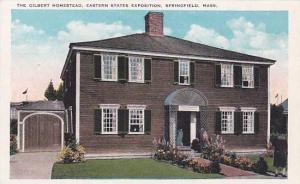 The Gilbert Homestead, Eastern States Exposition, Springfield, Massachusetts,...