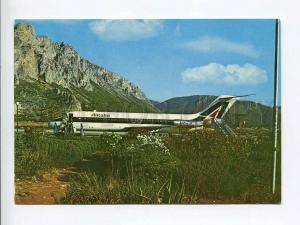 263393 ITALY PALERMO airport 1974 year photo RPPC