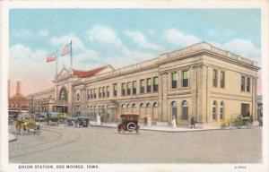 Iowa Des Moines Union Station Curteich