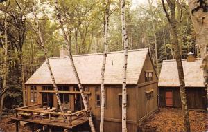 Grantham New Hampshire~Yankee Barn Homes~Emil Hanslin Advertising 1976 PC