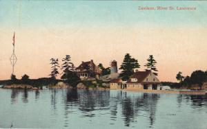 Zavikon, River St. Lawrence, Thousand Islands, Ontario, Canada, PU-1909