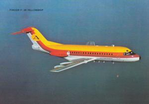 AVIACTION Airlines Fokker F-28 Fellowship Airplane , 80-90s
