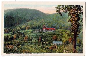 Everett Mansion & Mt. Anthony, Bennington VT