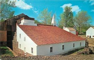 Morgantown Pennsylvania~Hopewell Village~Reconstructed Cast House~1950s PC
