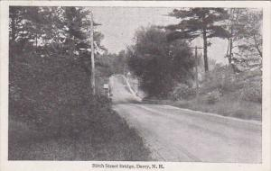 DERRY, New Hampshire, 1900-1910's; Birch Street Bridge