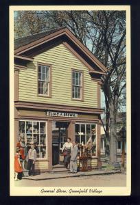Deerborn, Michigan/MI Postcard, General Store, Greenfield Village