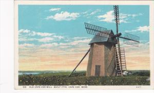 Old Cape Cod Windmill, Built 1774, Cape Cod, Massachusetts, PU-1929