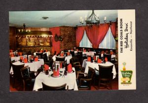 TN Holiday Inn Hotel Knoxville Red Coats Room Tenn Tennessee Postcard PC