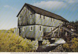 Canada McDonald Brothers' Water-Powered Sawmill Sherbrooke Village Nova ...