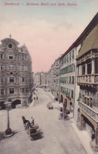 INNSBRUCK , Austria , 00-10s Goldenes Dachl und Kath. Kasino