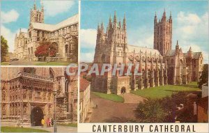 Modern Postcard Canterbury Cathedral