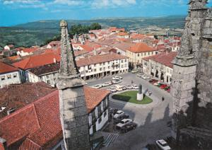 Aerial View, Central Square, GUARDA, Portugal, 50-70's
