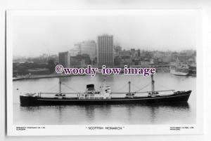 cb0508 - Monarch SS Co Cargo Ship - Scottish Monarch , built 1959 - postcard