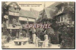 Old Postcard Hostellerie William the Conqueror Dives sur Mer Court of Louis XIV