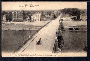 Pont et Panorama,Villeneuve-La-Garenne,France BIN