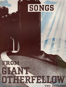 Songs From Giant Otherfellow Vintage WW2 Sheet Music Album
