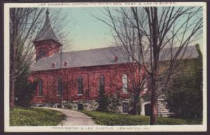 Lee Chapel,Washington & Lee University,Lexington,VA Postcard