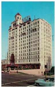 Postcard - The Wilton Hotel, Long Beach, California
