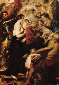 Antwerpen P.P. Rubens Our Lady surrounded by Saints (1634) Church Chapel