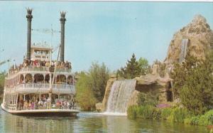 Disneyland Mark Twain Sternwheel Riverboat