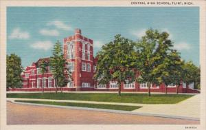Central High School Flint Michigan Curteich
