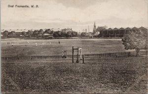 Oval Fremantle Australia WA Cricket Grounds c1912 Postcard G84