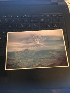 Vintage Postcard: Mt St Helens Washington (#26)
