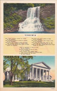 Virginia Water Falls Amd Building