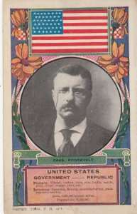Pres. Roosevelt , United States , 1909