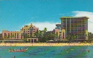 Hawaii Honolulu Royal Hawaiiian Hotel On Waikiki Beach