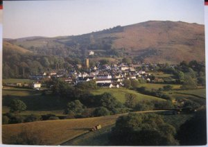 England Devon Chagford and Meldon Hill - unposted