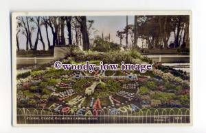 tq2294 - Sussex - Early View, The Floral Clock, Palmeira Lawns, Hove - postcard